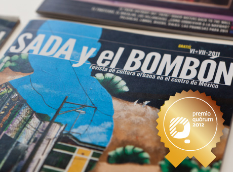 Revista Sada y el bombón Premio Quórum